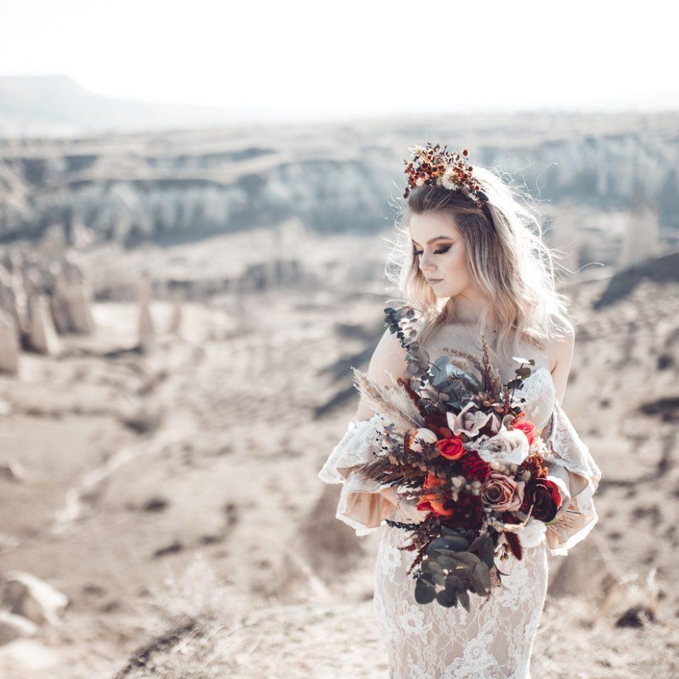 Gelin Saçı Modelleri İzmir