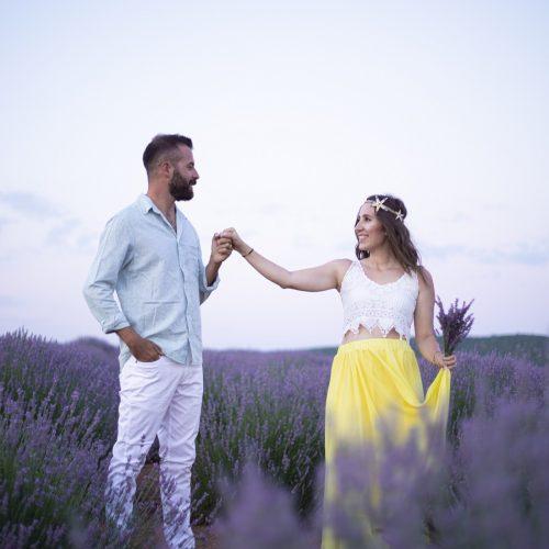 lavanta bahçesi düğün fotoğrafları
