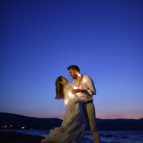 gece düğün fotoğrafları